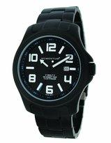 Momentum Men's 1M-SP06B0 Cobalt V Black Ion-Plated Titanium Watch Watch