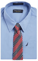 Nautica BOYS 8-20 Dress Shirt and Tie Set