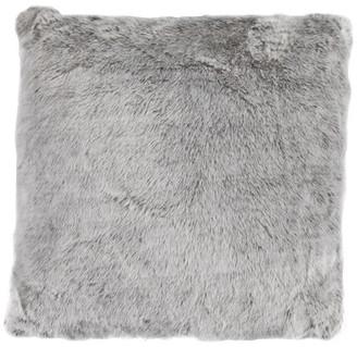 "HiEnd Accents Oversized Artic Bear Pillow, 22""x22"""