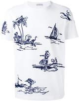 Moncler stitched motif T-shirt