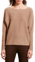 Lauren Ralph Lauren Petite Wool and Cashmere Boatneck Sweater