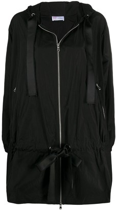 RED Valentino Full Shape Zip Up Coat
