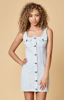 MinkPink Sugar Safari Denim Dress