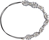 Pink Pewter Silver Spark Head Wrap