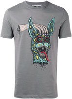 McQ by Alexander McQueen bunny head T-shirt - men - Cotton - S