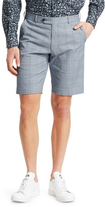 Saks Fifth Avenue COLLECTION Plaid Seersucker Shorts