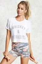 Forever 21 FOREVER 21+ Active Whiskey & Workouts Top