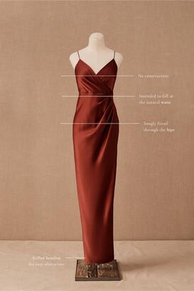 BHLDN Freya Satin Charmeuse Dress