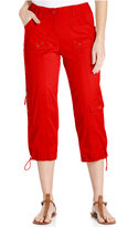 Style&Co. Style & Co. Cargo Capri Pants, Only at Macy's