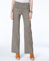 INC International Concepts Curvy Linen-Blend Wide-Leg Pants, Created for Macy's