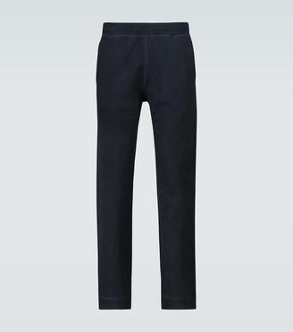 Sunspel Loopback cotton sweatpants
