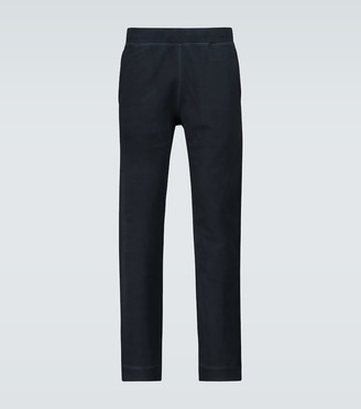 Sunspel Loopback cotton trackpants