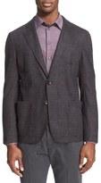 Armani Collezioni Men's Windowpane Plaid Sport Coat