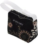 Ah Goo Baby Pacifier Tote, Earth, Black/
