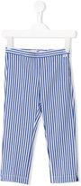 Il Gufo striped trousers - kids - Cotton/Spandex/Elastane - 6 yrs