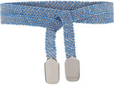 Assya Sky Blue & Silver Wrap Bracelet