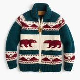 Canadian Sweater CompanyTM bear cardigan sweater