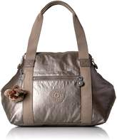 Kipling Art U Metallic Crossbody Tote Convertible Cross Body