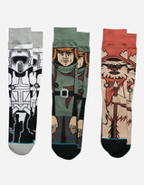 Stance x STAR WARS Return of the Jedi 3 Pack Mens Socks