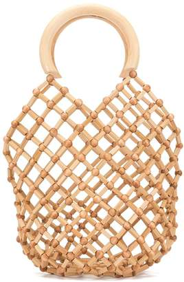 Cult Gaia Emmie net mini bag