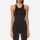 Lucas Hugh Women's Technical Knit Stardust Tank Top Black/Multi