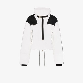 SHOREDITCH SKI CLUB Laurel panel puffer jacket