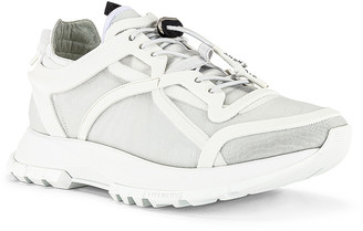 Givenchy Spectre Runner Low With Cage in White | FWRD