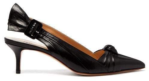 dba9d041a2170 Black Kitten Heel Pumps - ShopStyle
