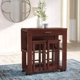 Red Barrel Studio Crownover 3 Piece Bar Table Set Red Barrel Studio