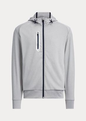 Ralph Lauren Tech Jersey Full-Zip Hoodie