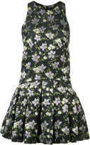 Alexander McQueen printed mini dress - women - Silk/Acetate/Polyester/Polyimide - 42