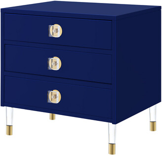 Nicole Miller Marell Side Table/Accent Table/Nightstand