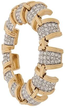 Susan Caplan Vintage 1990s D'Orlan bracelet