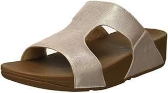 FitFlop Women's H-BAR SHIMMERLIZARD Sandal