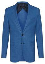 HUGO BOSS Wool Sport Coat, Slim Fit Nobis 42R Turquoise