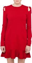RED Valentino Tie Shoulder Knit Dress