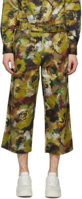 Davi Paris Multicolor Branly Print Trousers