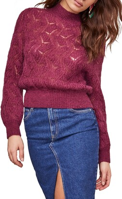 ASTR the Label Audra Bishop Sleeve Sweater