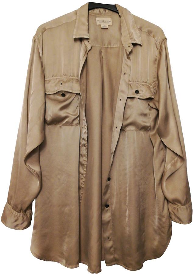 Denim & Supply Ralph Lauren Khaki Viscose Shirts