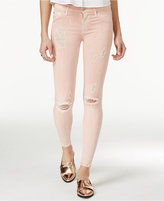 Hudson Nico Destructed Skinny Jeans