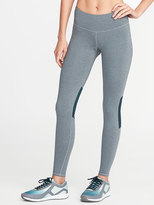 Old Navy High-Rise Heathered-Panel Run Leggings for Women