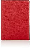 Smythson Panama Passport Cover-RED