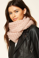 Forever 21 FOREVER 21+ Open-Knit Infinity Scarf