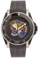 GUCCI Dive angry-tiger watch
