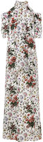 Erdem floral printed Annaliese gown - women - Silk - 10