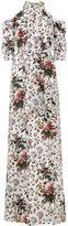 Erdem floral printed Annaliese gown - women - Silk - 12
