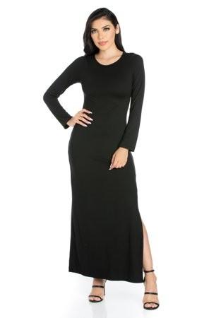 f045d65266ee 24/7 Comfort Apparel Black Women's Fashion - ShopStyle