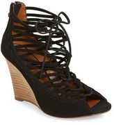 Linea Paolo Women's 'Willow' Cage Wedge Sandal