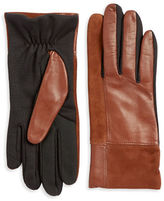 Lord & Taylor Mixed Media Tech Gloves