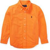 Ralph Lauren 2-7 Cotton Oxford Sport Shirt